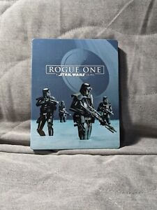 STEELBOOK Rogue One: A Star Wars Story (Blu-ray Disc, 2017, 3-Disc Set)