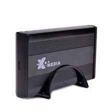 """X-media EN-3400-BK 3.5"""" USB External IDE/SATA Hard Drive Enclosure Supports 4TB"""