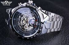 Reloj de pulsera Automático Moda Parte superior Marca Winner Original hombre