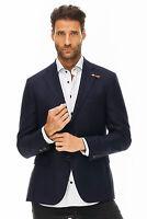 Baldessarini - Sakko Herren blau Designer Neu: 389€