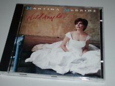 MARTINA MCBRIDE WILD ANGELS CD 1995 FAST WIE NEU MIT SWINGING DOORS (YZ)