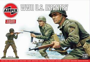 Airfix Vintage Classic 1/32 WWII U.S. Infantry # A02703V
