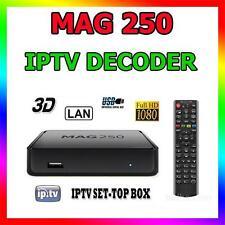 MAG250 DECODER IPTV HDTV 1080P HDMI STREAMING TV HD BOX MEDIA PLAYER USB MAG 250