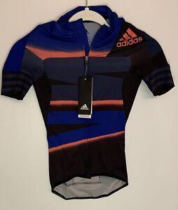 Adidas Womens Cycling Jersey Maillot Size 2XS  Pro Bike Team Training