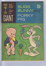 Bugs Bunny and Porky Pig #1 Gold Key 1965