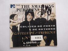 Smashing Pumpkins autograph Tiket (RARE)