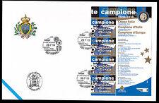 SERIE BANDELLA BUSTA GRANDI DIMENSIONI SAN MARINO 2010 INTER 3 VOLTE CAMPIONE