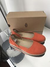 Ugg Australia Shoes Nubuck Leather Size 5.5 U.K. Adult Worn Once Great Condition