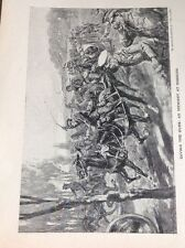 R3 Ephemera 1918 Book Plate Soissons Saving The Guns From German Attack