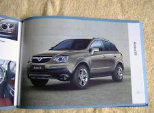 Vauxhall New Antara Range 2008 Models No1 inc E, S & SE 2.0CDTi-16v