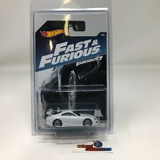#5657  '94 Toyota Supra * WHITE * Fast & Furious 7 * Hot Wheels * ZD7