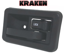 Kraken Inside Door Latch Handle For Jeep Wrangler 87-04 W/ Rod Clip Right YJ TJ