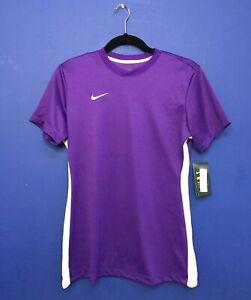 Nike Women's Dry Short Sleeve Training Shirt Soccer Jersey Purple 899947 Medium
