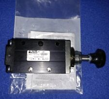 """Parker 1/4"""" Manual Air Control Valve with 4-Way, 2-Position Air Valve Type -"""
