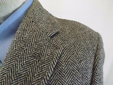 42 S Men's Blazer Jacket, 100% Wool GRAY Suit Coat 42 S