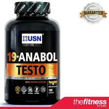 USN 19 Anabol Testo (180 Caps) - FAST FREE DELIVERY