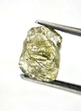 Rough Diamond 1.87TCW  Grayish Green Sparkling Natural Irregular shape for Ring