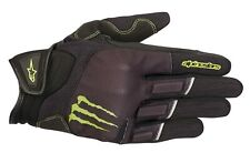Alpinestars Monster Raid Gloves Gr. 3XL kurze Motorradhandschuhe schwarz grün