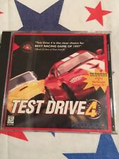 PC CD ROM Game Test Drive 4 With Case And Manual