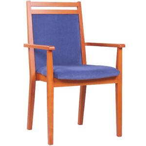 Seniorenstuhl, Sitzhöhe 52 cm, sofort lieferbar, Gestell Buchenholz ex. Qualität