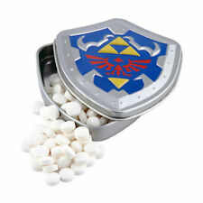 Nintendo The Legend of Zelda Mints in Collectible Link Shield Tin!