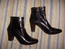 Etienne Aigner ZIPPER Boots WOMENS SIZE 7 1/2 M (3 inch heel)   RUDY