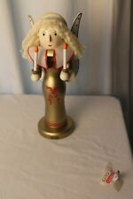 "ANGEL NUTCRACKER (14"" TALL) WITH WING & CANDLES – LIMITED EDITION 2008"