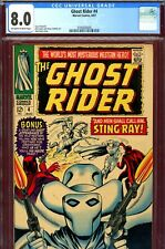 Ghost Rider #4 CGC GRADED 8.0 - Dick Ayers cover/art - Western series 1967