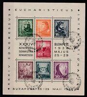 FRANCOBOLLI - 1938 UNGHERIA BF/3 NUOVI VALORI E/5072