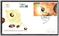 Indonesia 1999 FDC Gem Stones Cilisified Coral S/S