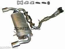 ROVER MGF 1.8 COMPLETE EXHAUST 95-01 + GASKETS RUBBERS