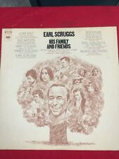 EARL SCRUGGS Performing With His Family & Friends LP OOP Bob Dylan Byrds country