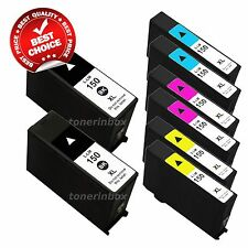8 Pack New 150XL Ink Cartridge Fits Lexmark Pro715 Pro 915 S315 S415 S515