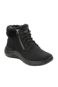 Skechers Womens On The Go Midtown Water Stain Repellent Faux Fur Cushioned Boots