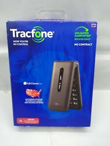 TRACFONE - TracFone LG Classic Flip Prepaid - Gray