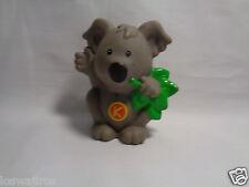Little People Fisher Price Learning Zoo Letter K Koala Bear 2004 Mattel
