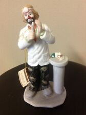 Emmett Kelly Jr Flambro Dental Statue With Stand