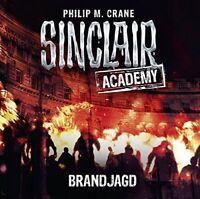 SINCLAIR ACADEMY - FOLGE 12: BRANDJAGD (PHILIP M.CRANE) 2 CD NEW