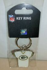 *NIP* NFL GREEN BAY PACKERS~ GREEN / WHITE SHIRT KEY RING