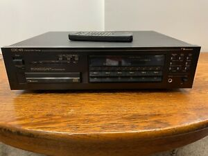 Nakamichi CDC-4A Compact Disc Player 6 Magazine Changer With Remote