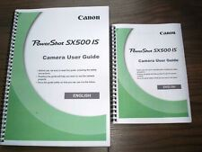 ~PRINTED~ Canon Powershot Sx500 IS Full User guide Instruction manual