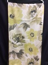 Shower Curtain Large Floral Green Chartreuse Black Polyester  m Style FUN! P4
