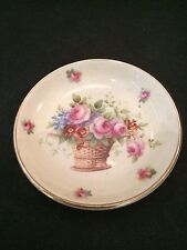 ROYAL DOULTON 10cm DIA. POSY BASKET MOTIF PIN DISH MARKED D5094