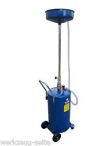 68 Liter Ölauffangbehälter Ölauffangwagen Ölauffanggerät Altöl Ölablassgerät