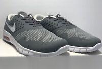 Nike Mens Size 9 Eric Koston 2 Signature Model Skateboarding Shoes Grey White