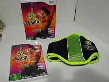 "Zumba Fitness Boxed As New For Nintendo Wii ""Fast And Free Postage"""
