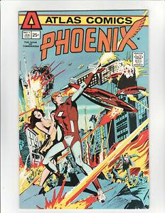 PHOENIX THE MAN OF TOMORROW #1• 9.4 NM  • 1975 ATLAS COMICS• ORIGIN OF PHOENIX