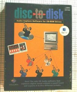 NEW Vintage 1993 disc to disk sound capture software for Mac