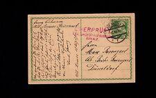 Austria WWI Franz Joseph Postal Card Alt Aussee 1915 Red Graz Censor 9o