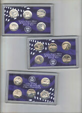 1999 THRU 2008 S CLAD STATE QUARTERS FULL SET 50 COINS NO BOX OR COA NICE L@@K